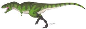 Tyrannosaurus rex body color