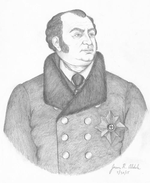 Prince Frederick Augustus 1815