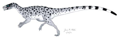 ornitholestes-with-feathers