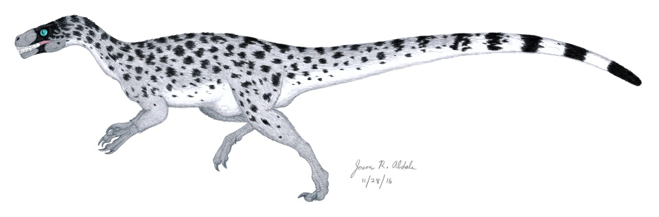 ornitholestes-with-feathers